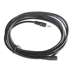 HTTX 3.5mm Aux Stereo Audio Extension Cable Slim Male to Fem