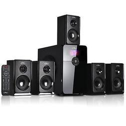 beFree Sound 5.1 Channel Surround Bluetooth Speaker System,