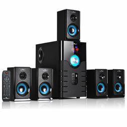beFree Sound BFS-500 5.1 Channel Surround Sound Bluetooth Sp