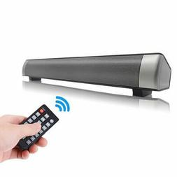 Sanwo Black Wired and Wireless Bluetooth Home Theater TV Ste