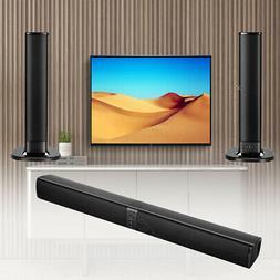 Bluetooth 4.1 Wireless Home TV Soundbar Sound box Detachable