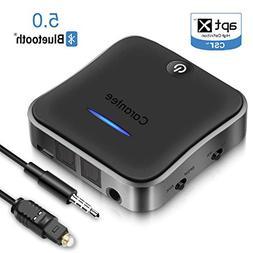 CARANTEE Bluetooth 5.0 Transmitter Receiver, aptX Acc Low La