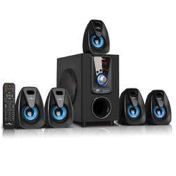 BLUETOOTH 5.1 CH HOME THEATER SURROUND SOUND STEREO SYSTEM U