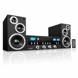 Bluetooth Home Classic Shelf Stereo System CD Player PLL FM