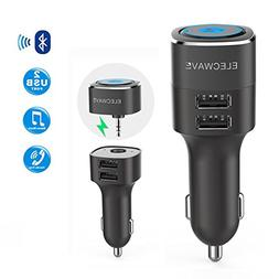 Bluetooth Receiver, Elecwave Bluetooth 4.2 Car Receiver & Wi