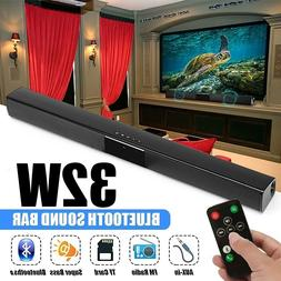 Bluetooth Sound Bar Stereo TV Speaker Home Theate System Sub