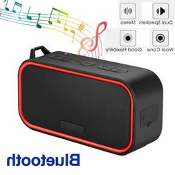 Bluetooth Speaker Portable Wireless Dual Stereo Speakers For