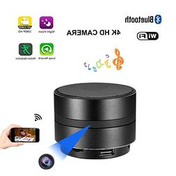JLRKENG Bluetooth Speaker Spy Hidden Camera HD 1080P WiFi Ni