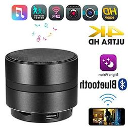 4K HD Bluetooth Speaker Wireless IP Camera - TOTUOKEY Wi-Fi