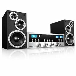 BLUETOOTH STREAMING IT HOME STEREO SYSTEM CD PLAYER FM RADIO