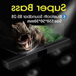 Bluetooth TV Sound Bar 30W 3D Stereo Home Theater Soundbar W
