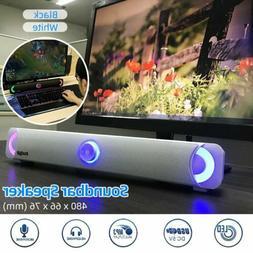Bluetooth Wireless TV Soundbar Speaker Stereo Bar Home Bass