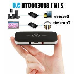 Bluetooth5.0 Transmitter & Receiver Wireless A2DP Home TV St