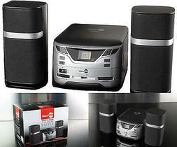 Bookshelf Stereo Receiver Micro Compact System Home AM FM CD
