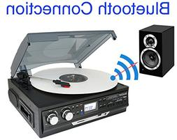 NEW Boytone BT-37B-C Record Player Turntable USB Send Audio