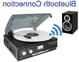 NEW Boytone BT-37B-C Record Player Turntable USB Send Audio