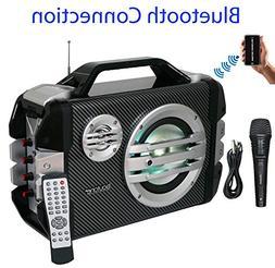 Boytone BT-51M Portable Bluetooth speaker with Microphone, F