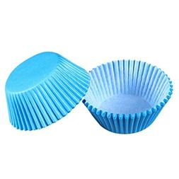 Cupcake Liner, 100 Pack, Blue, Cake Decorating Supplies, Cup