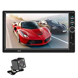 Wind-Susu car Radio 7-inch and 2-DIN with GPS Navigation, Re