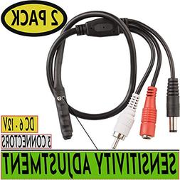 CCTV Microphone Outdoor Microphone for WiFi Security Camera