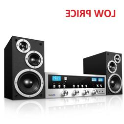 cd bluetooth stereo system home speaker cd