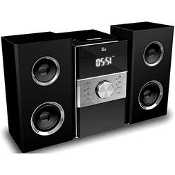 GPX Cd Player & Digital AM/FM Radio Tuner Hi-Fi Desktop Home