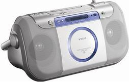 Sony CFD-E100 Portable CD Radio Cassette Recorder
