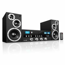 Innovative Technology Classic CD Stereo System with Bluetoot