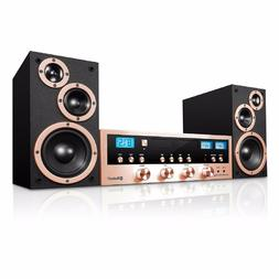 CD Stereo System Bluetooth Home Speaker Innovative Technolog
