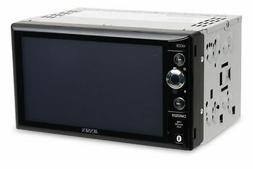 "Jensen CMR2629 Double Din 6.2"" Mechless Audio/Video Receiver"