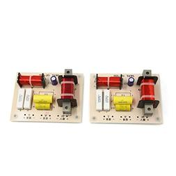 uxcell 2pcs 180W High Low 2 Way Crossover Filter for Audio F