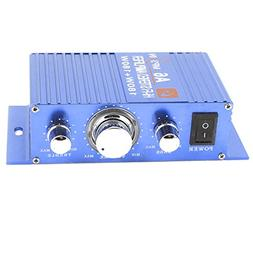 uxcell® DC 12V 180W Car Hifi Stereo Audio Power Amplifier