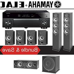 Elac F6.2 Debut 2.0 7.1-Ch Home Theater Speaker System with