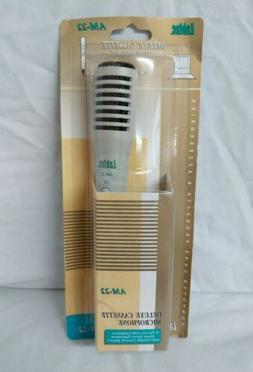 Labtec Deluxe Cassette Microphone for use with computer or h