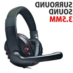 DH-878 Surround Sound Stereo PC Gaming Headset & Microphone