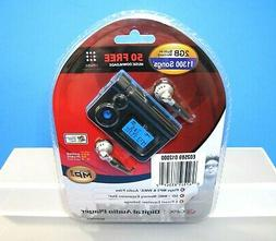 GPX Digital MP3 Audio Player 2 GB Built-In Memory Holds 1300