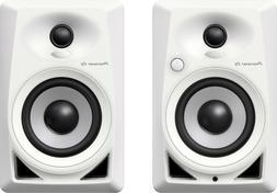 Pioneer DM-40-W 4-inch Active Desktop Monitors Pair  DM40