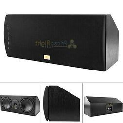 "Dual 6.5"" 2-Way Center Channel Home Theater Speaker Stereo A"