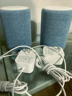 Echo  - Smart speaker with Alexa - Twilight Blue - USED
