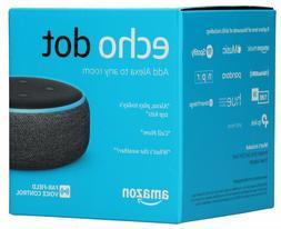 Amazon - Echo Dot  - Smart Speaker with Alexa - Charcoal