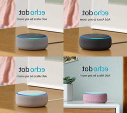 Amazon Echo Dot 3rd Gen with Alexa - Charcoal / Heather Gray