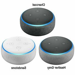 5 Packs Amazon Echo Dot 3rd Generation w/ Alexa Voice Media