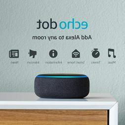 Amazon Echo Dot 3rd Generation Bundle Smart Plug - Heather G