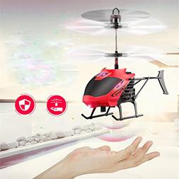 Hemlock Flying Helicopter Toys, Kids Flashing Lighting Plane