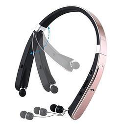 Mee'sport Foldable Bluetooth Headset, Wireless Bluetooth Nec
