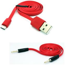 Fonus Brand 3ft Flat Micro USB Data Cable Sync Charging Cord