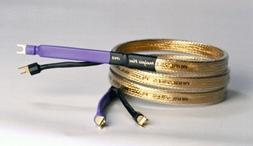 Analysis Plus Golden Oval Speaker Cable  8 ft