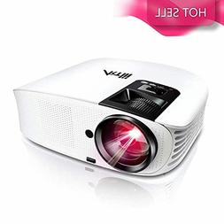 HD Projector for Home Theater - For Movies, Sports, and Vide
