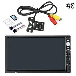 StaunchWea HEVXM 7010B 2DIN Car Radio Bluetooth 7 Inch HD St
