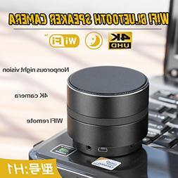 Hidden Camera Speaker Spy Camera Bluetooth Music Player WiFi